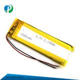 3.7V 580mAh Li-ion del polímero Batería con Ce/RoHS
