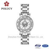 Mulheres do relógio de pulso da senhora relógio da forma do relógio do bracelete