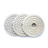 Diamond humide Tampon à polir en spirale pour Stone