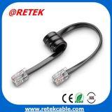 Rj11 CAT3 UTP cabo patch cord Telefone plana
