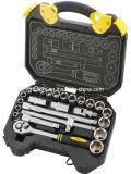 """25pcs conjunto de herramientas de mano de profesionales de la CR-V de 1/2"""" de acero Juego de vasos de la unidad"""