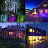 Luz da decoração do Natal do RGB com luz de controle remoto da estrela do laser