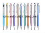 昇進のためのハイエンドBling Blingスタイラスクリスタル・ボールのペンの金属
