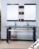 Salle de bains en verre vanité (VS-G141)