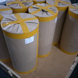 Roulis en plastique mince matériel 100% neuf expulsé de feuille de PVC de 0.12mm pour l'impression