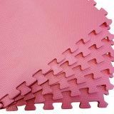 Het goedkope Blad van het Schuim van EVA van de Textuur van de Prijs Grote recycling Geborstelde Rode