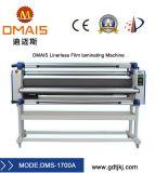 Linerless automática máquina de laminación en frío de gran formato.