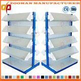 軽量金属線の網のスーパーマーケットの表示棚(Zhs144)