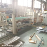 Feuille en aluminium/galvanisée redressant la ligne de mise à niveau machine