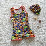 Hecho a la medida de trajes de baño traje de baño de los niños