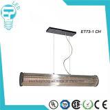 Luz de teto moderna do candelabro da lâmpada de vidro do pendente do diodo emissor de luz