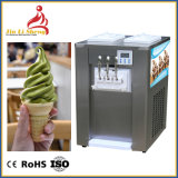 Aromakommerzielle weiche Serve-Eiscreme-Maschine der Mischungs-Bq322 2+1