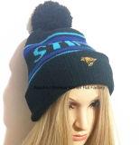 Вышитая крышка/связанная крышка шлема крышки и Beanie зимы