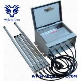 500W waterdichte Regelbare GSM 3G 4G Signaljammer van de Telefoon van de Hoge Macht (met WiFi voor Gevangenis)