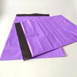 Roxo selos personalizados Envelope Mailer Saco de embalagem de polietileno