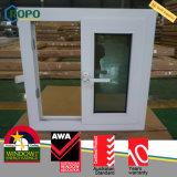 PVC Vinyl As2047 janela de planador de substituição residencial para casa