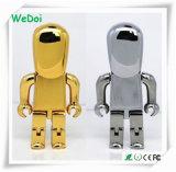 선전용 선물 (WY-M56)로 주문을 받아서 만들어진 로고에 새로운 로봇 USB 기억 장치 지키