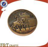 カラーのないカスタム記念品の金属のトークン硬貨