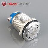 Terminal de parafuso Hban (19mm) pode ser de aço inoxidável avisador sonoro de iluminação