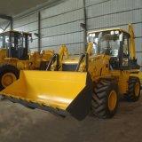 Heißer gegliederte Ladevorrichtung des Verkaufs-4WD Towable Traktor mit Löffelbagger
