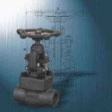 O tamanho pequeno forjou a válvula de globo industrial do interruptor do aço