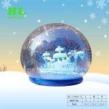 De uitstekende kwaliteit Aangepaste Vermakelijke Opblaasbare Tent van de Bol van de Sneeuw van het Kristal met Grote Pret voor de Activiteiten van de Reclame
