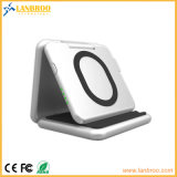 Batería sin hilos portable de múltiples funciones de la potencia de la carga con la función móvil del soporte