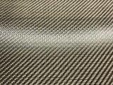 CF/Kevlar 200g negro/telas del híbrido de la fibra de vidrio del carbón del llano y de la tela cruzada del amarillo