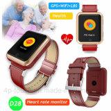 Het kleurrijke GPS van de Monitor van het Tarief van het Hart van het Scherm van de Aanraking Horloge van de Drijver (D28)