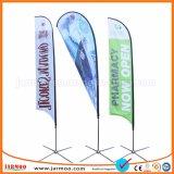 El poliéster de plumas de banners personalizados baratos