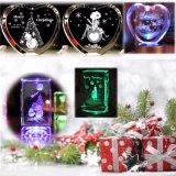 2015 экономическая цена, косметический Crystal Reports в подарок, 3D, лазерный внутренний/подповерхностных гравировка машины
