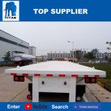 대륙간 탄도탄 무거운 트레일러 트럭 40FT 콘테이너 포좌 트레일러