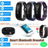 Bluetooth 4.0 Slimme Armband met de Monitor van het Waterdichte en Tarief van het Hart H28