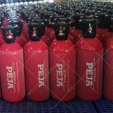 Cylindre comprimé en aluminium de CO2 de barillet approuvé de TUV