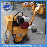 Rullo compressore idraulico del compatto del timpano del doppio di vibrazione di vendita calda