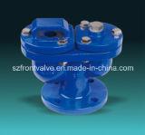Чугун/дуктильный утюг служили фланцем клапаны воздуха конца