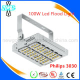 UL 60W 120lm / W Philips Chip Floodlight LED Inondation lampe