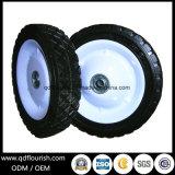 트롤리를 위한 강철 변죽을%s 가진 6X1.2 인치 단단한 고무 바퀴