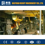 Электрический перемещая металлургический надземный кран с высоким качеством