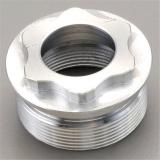 Pièce de usinage en aluminium de commande numérique par ordinateur d'acier inoxydable de matériel automatique de précision