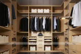 Platz Save Simple Design Wooden Walk in Wardrobe