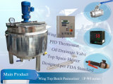 Stainess Steel 500L Milk Batch Pasteurizer (P-WI 시리즈)