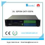 PonマルチWdm EDFA 32ポートのGpon Epon CATV EDFA