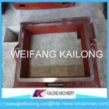 Produit malléable de cadre de moulage de sable de fer de fonte grise de cadres de sable de haute sécurité