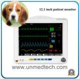 12,1 polegadas Multiparamétricas Veterinário Portátil Monitor de pacientes com ECG e SpO2&a PNI