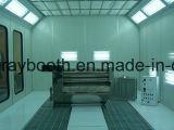 Cabine simples da pintura de pulverizador, equipamento de revestimento