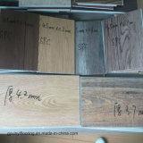 plancher imperméable à l'eau matériel en bois de vinyle de PVC d'épaisseur de 2mm