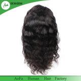 Волосы волны прифронтового парика шнурка человеческих волос парика женщин естественные