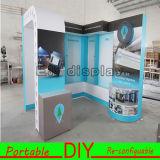 Cabina reutilizable portable versátil de interior de la exposición para la visualización