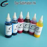 6 couleurs de transfert de chaleur pour le tissu de coton d'encre de Sublimation encre de l'usine